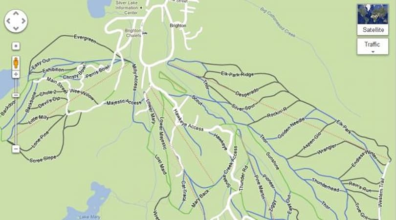 Google expands its reach on the slopes, adds ski resort routes to Maps