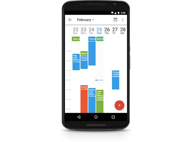 Google Calendar for Android lets you link files to events