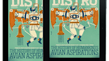 Distro Issue 75 arrives with a look at the history of human-powered flight