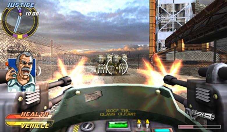 Pursuit Force sequel allowing four players to jump onboard