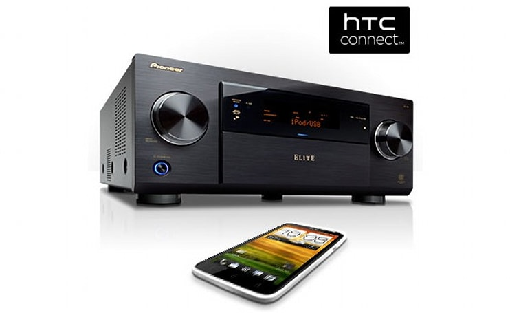 Firmware updates for Pioneer AV receivers add HTC Connect music streaming compatibility