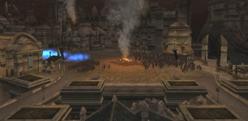 LotRO begins testing fellowship version of Pelargir epic battle