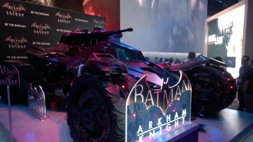 Watch the Batmobile burn robbers in Arkham Knight trailer