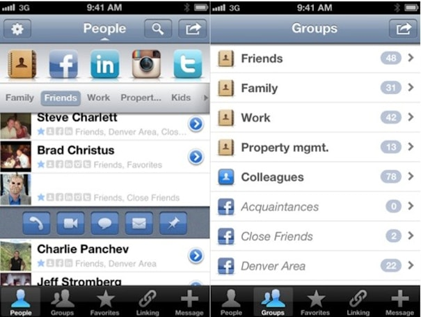 Savi People app brings 'smarter' contacts to iPhone, integrates with your favorite social networks