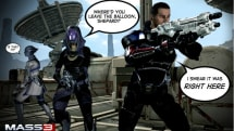 Mass Effect 3's trip into space gets a trailer, useful purpose