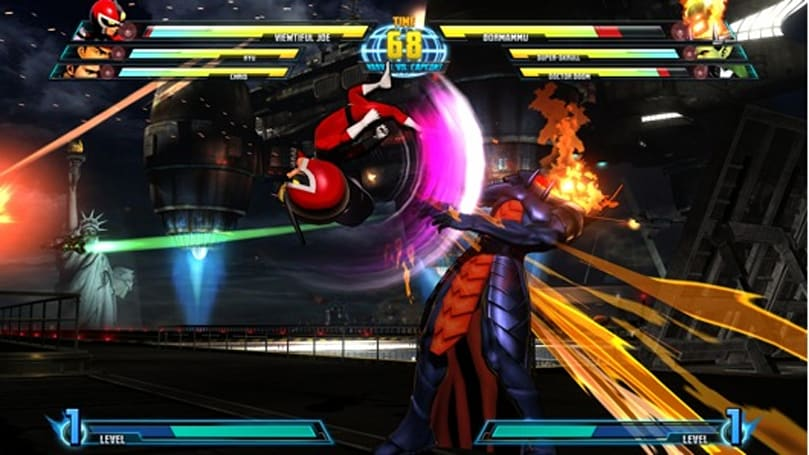 Demon a-go-go: Viewtiful Joe and Dormammu in Marvel vs. Capcom 3