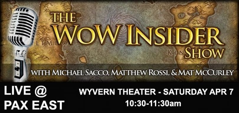 The WoW Insider Show Live at PAX East