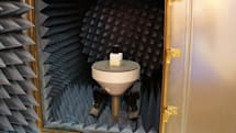 Rohde & Schwarz anechoic test chamber waves-on