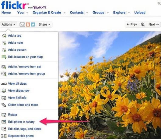 Flickr adopting Aviary for photo edits, waves goodbye to Picnik