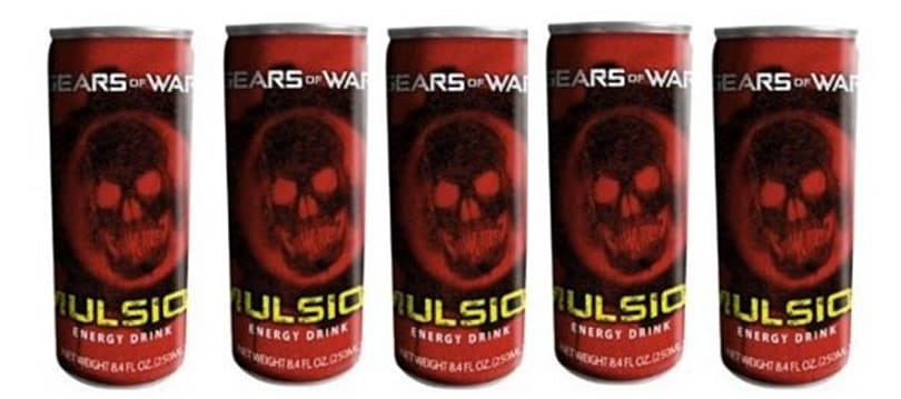 Look at all that juice: Gears of War 'Imulsion' energy drink