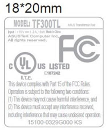 ASUS Transformer Pad TF300TL hits the FCC with AT&T-friendly LTE