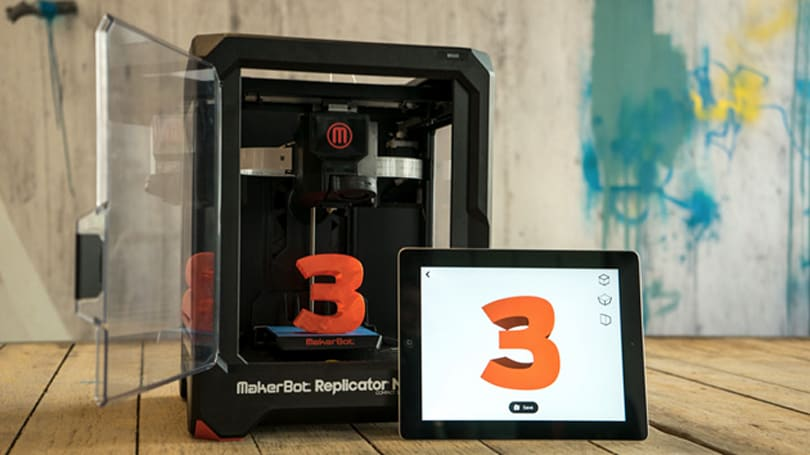 Makerbot plants its 3D-printing flag in Europe