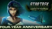 Star Trek Online posts a four-year infographic