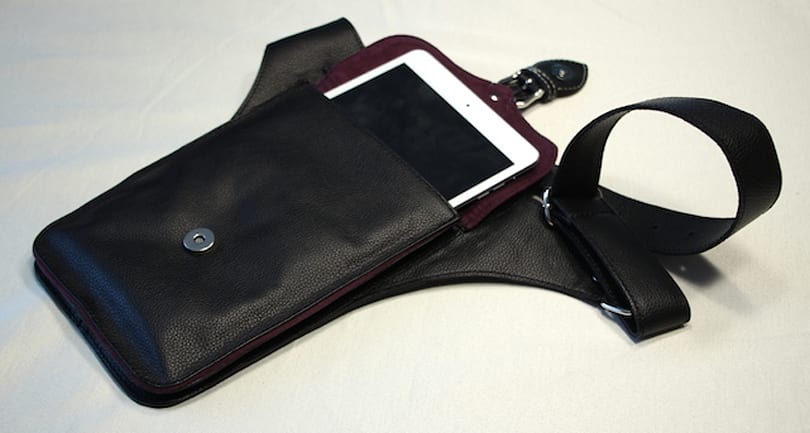 Intrepid Bags Lillium Purse carries your iPad mini in style