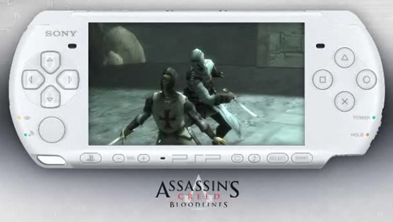 White PSP Assassin's Creed Bloodlines bundle to sell for $199
