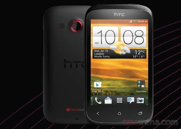 HTC Desire C spotted enjoying the Portuguese sun