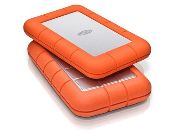 LaCie's Rugged Mini is rugged, also mini (video)