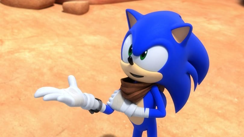 Sonic Boom cartoon goes zoom zoom on November 8