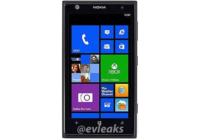 Nokia Lumia 1020 for AT&T possibly spied with Pro Cam app