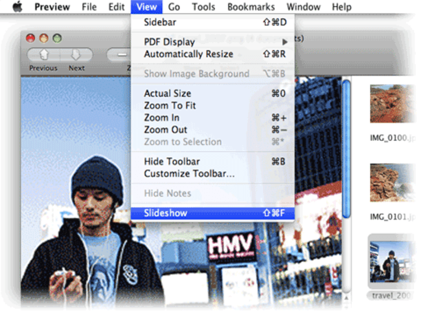 Mac 101: Use Preview to display a slideshow (update)