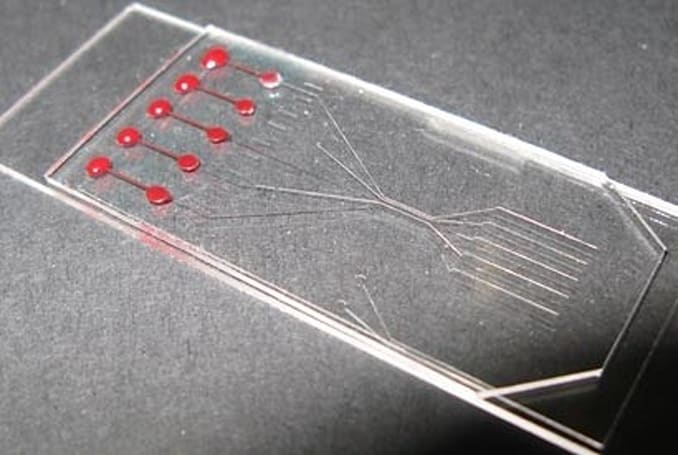 Scientists separate plasma from blood with working biochip