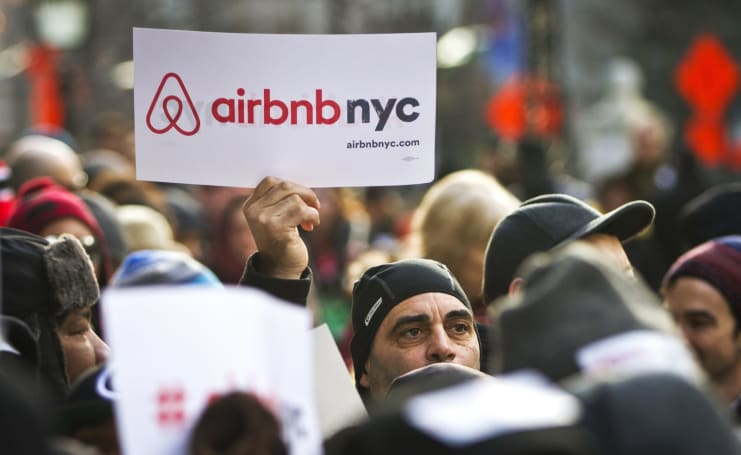 Airbnb drops its lawsuit against New York