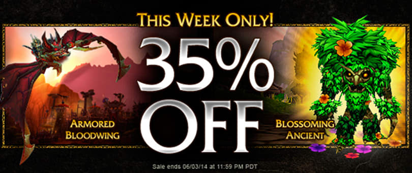Armored Bloodwing, Blossoming Ancient now 35% off