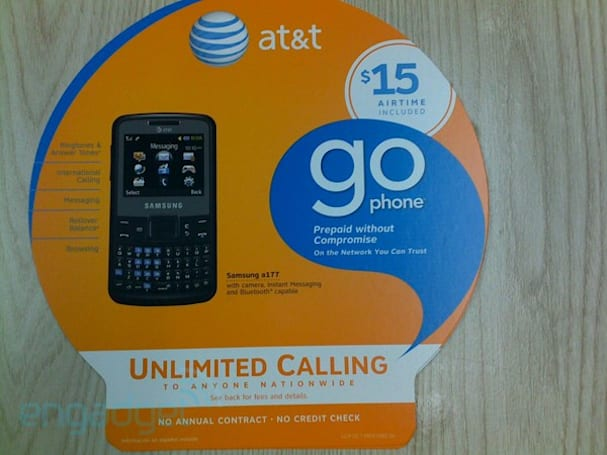 Samsung's a177 is a prepaid texter for AT&T
