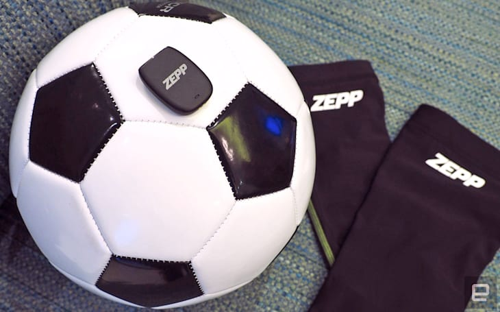 Zepp's latest sports training sensor is for soccer players