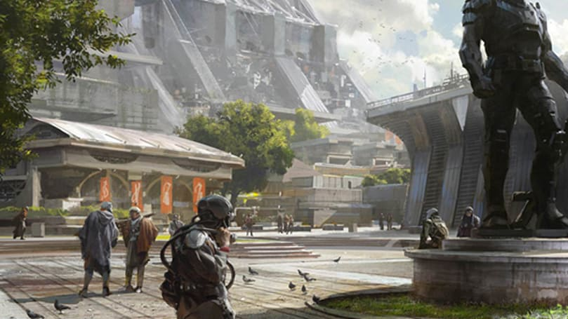 Explore Destiny's early fantasy, sci-fi, and space western art
