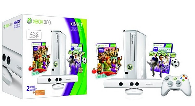Xbox 360 gets limited edition all-white Kinect bundle
