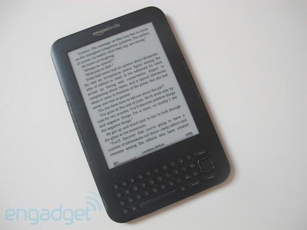 Amazon's third-gen Kindle is now its best-selling product... of all time!