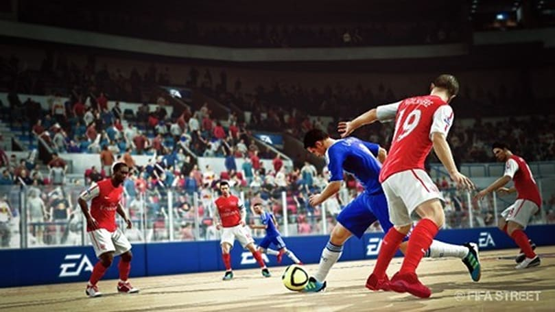 FIFA Street fights back to top of UK charts