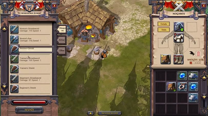 New Albion Online dev video details classless system
