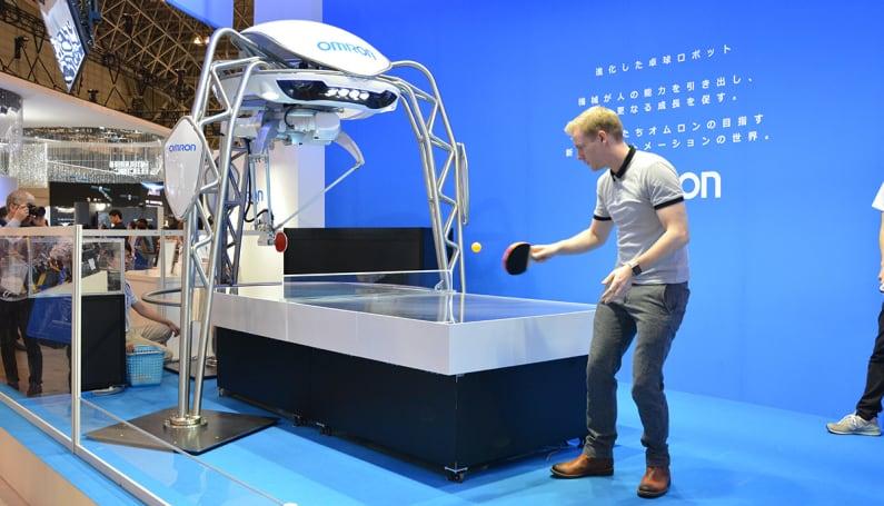 A robot made me (marginally) better at ping pong