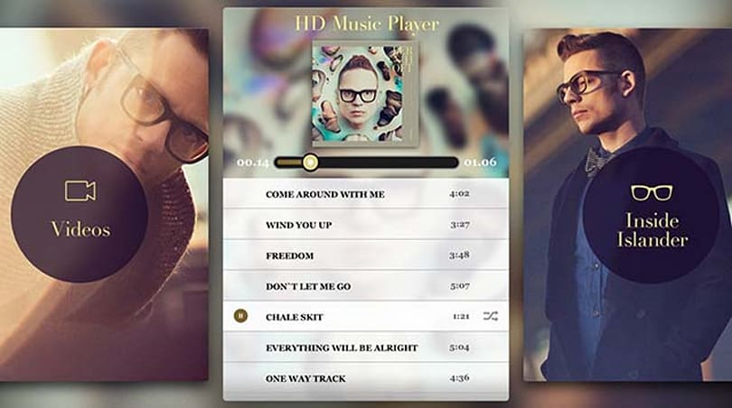 The Bernhoft Islander app could be the future for iOS music releases