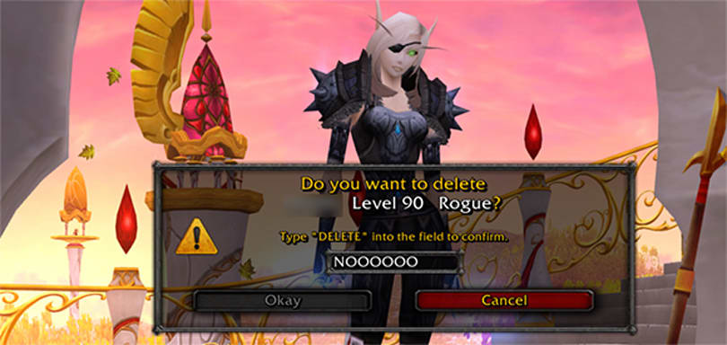 Warlords of Draenor: Possible character undelete option?
