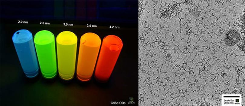 Tetrapod quantum dot LEDs could lead to cheaper, better HDTVs soon