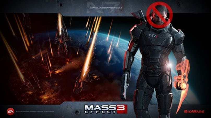 Female Shepard will play a greater role in Mass Effect 3 marketing