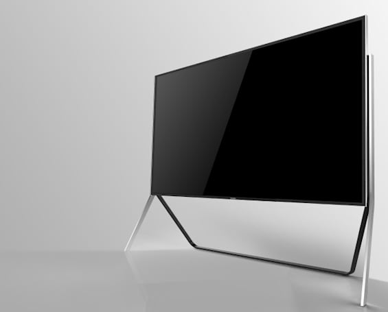 Samsung's new UHD TV is the first to go from flat to curved on command