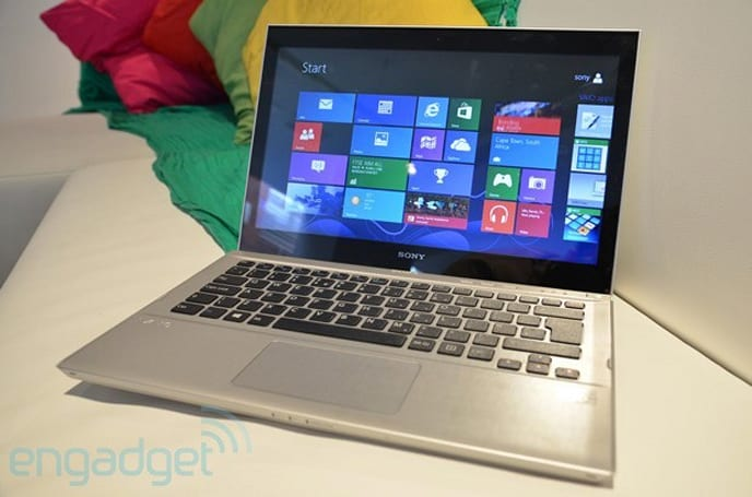 Sony unveils touch-enabled Vaio T13 Ultrabook running Windows 8, we go hands-on (video)