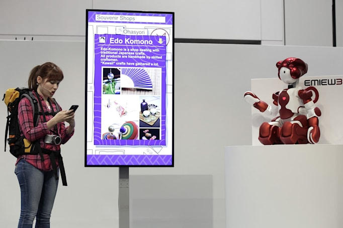 Adorable robots help travellers at Tokyo's Haneda airport