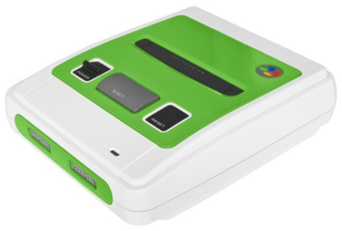 Prettied-up pastel SNES consoles now on sale