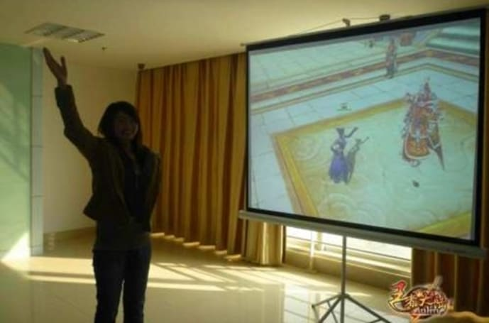 You are the navigator: China developing motion-sensing MMO