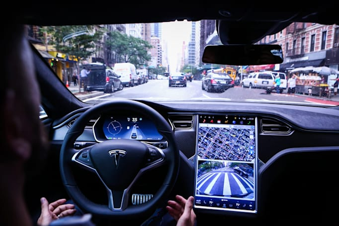 Tesla's big Autopilot update reaches a handful of cars