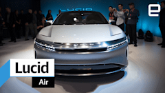 Riding inside the Lucid Air luxury EV