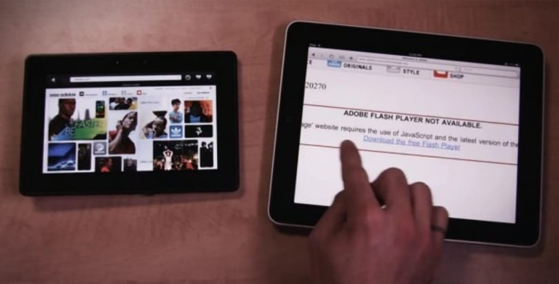 BlackBerry PlayBook vs. iPad: The challenger looks fast so far