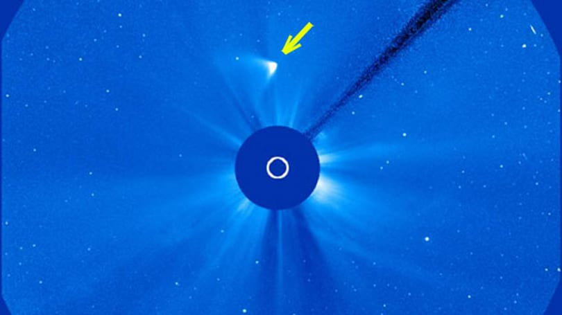 Comet Ison may have survived its kiss with the sun (update: it didn't)