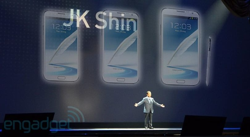 Samsung Galaxy Note III may come in three screen sizes: 5.5, 5.7 and 6 inches