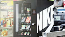 Nike has a vending machine that lets you trade Fuel for gear